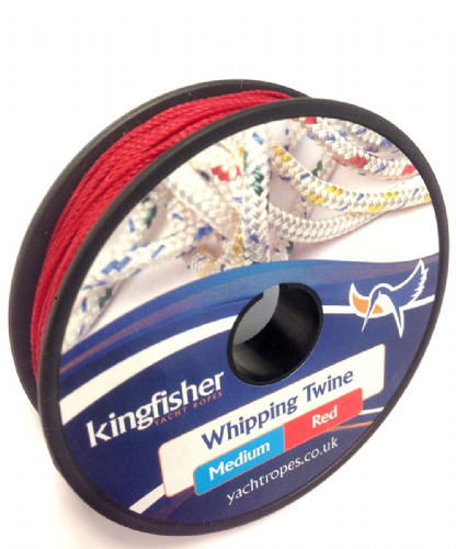 Kingfisher Marine Medium Whipping Twine 20m approx RED